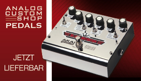 AKAI - Analog Custom Shop Pedals -