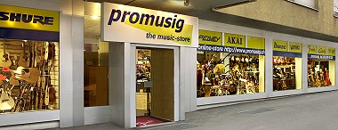 Promusig Online-Store