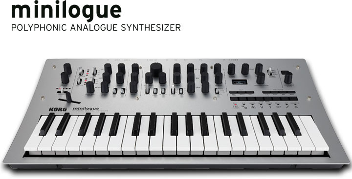 Korg Minilogue polyphoner analog Synthesizer