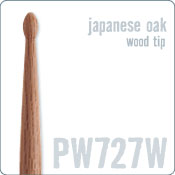 Promark PW727W Japanese Oak Wood Tip