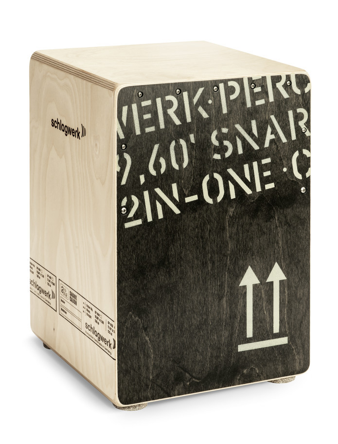 Schlagwerk 2in One Snare Cajon Medium Black Edition