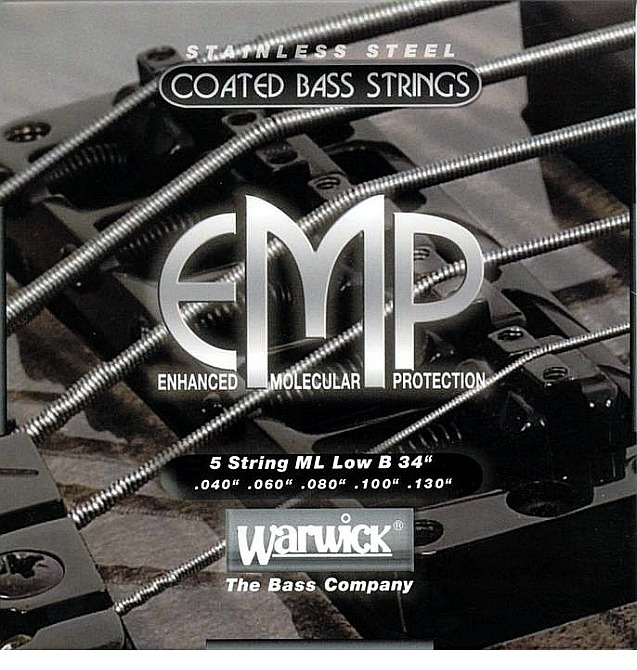 Warwick EMP Coated Bassstrings 5 String 040/130""