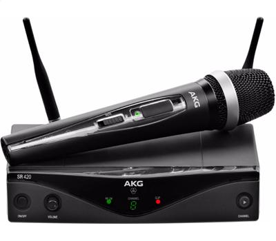 AKG WMS 420 Vocal Set D5 530-559 MHz Band-A