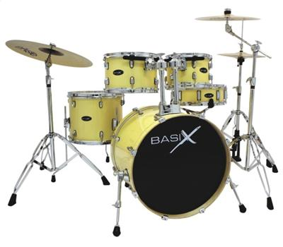 Basix XE-309-VC Xenon Drum-Set 3 Vintage Cream