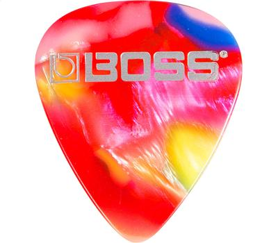 Boss BPK-12-MT Celluloid Pick 12er Pack Mosaic Thin1