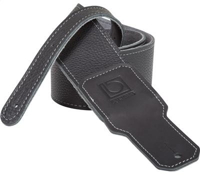 "Boss BSL-30-BLK 2,5"" Guitar Strap Black Premium Leather1"