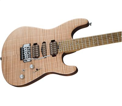 Charvel Guthrie Govan Signature HSH Flame Maple Caramelized Flame Maple Fingerboard Natural3