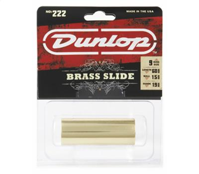Dunlop 222 Brass Slide Medium2