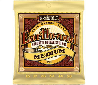 Ernie Ball 2002 Earthwood Bronze Medium 013-056