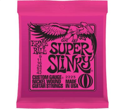 Ernie Ball 2223 Nickel Wound Super Slinky .009-.042