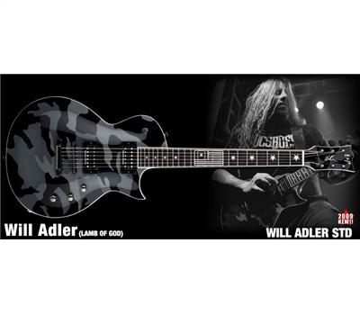 ESP Will Adler Signature Black-Camo2