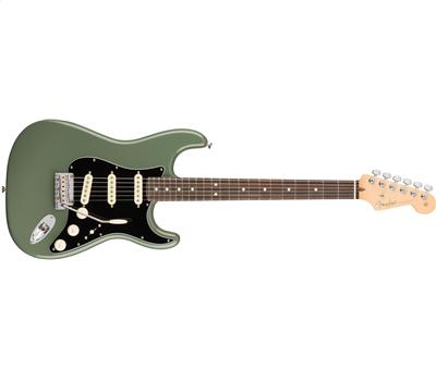 Fender American Professional Stratocaster RW Antique Olive1