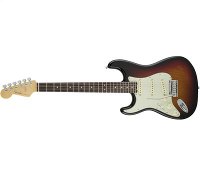 Fender American Elite Stratocaster Lefthand RW 3-Color Sunburst