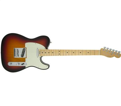 Fender American Elite Telecaster® Maple Fingerboard 3-Color Sunburst