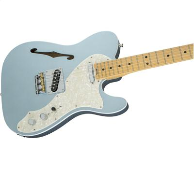 Fender American Elite Telecaster Thinline MN Mystic Ice Blue4