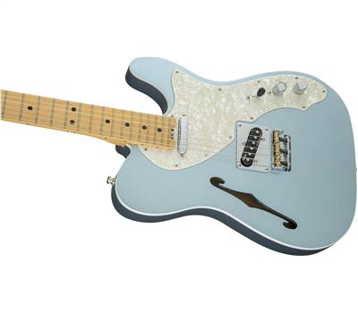 Fender American Elite Telecaster Thinline MN Mystic Ice Blue5