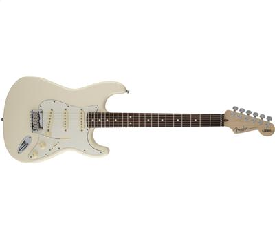 Fender Jeff Beck Signature Stratocaster RW Olympic White1