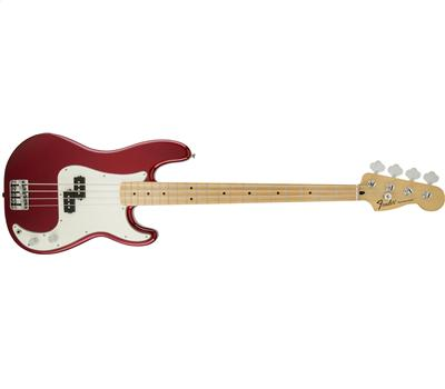 Fender Standard Precision Bass MN Candy Apple Red1