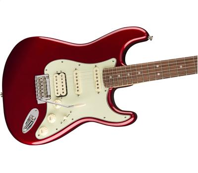 Fender Deluxe Stratocaster® HSS Pau Ferro Fingerboard Candy Apple Red3