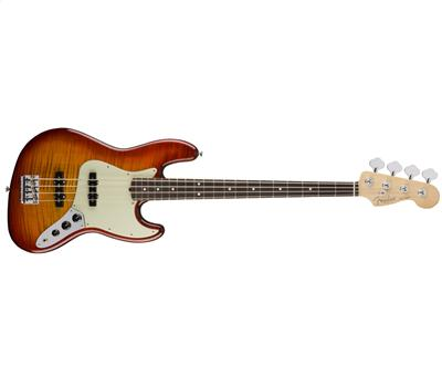 Fender Limited Edition American Professional Jazz Bass FMT Aged Cherry Burst1