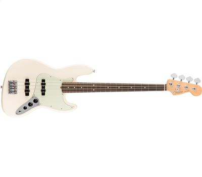 Fender American Professional Jazz Bass RW Olympic White1