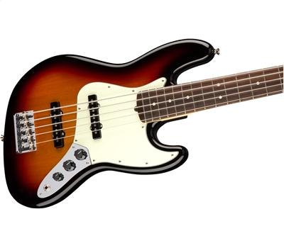 Fender American Pro Jazz Bass® V Rosewood Fingerboard 3-Color Sunburst2