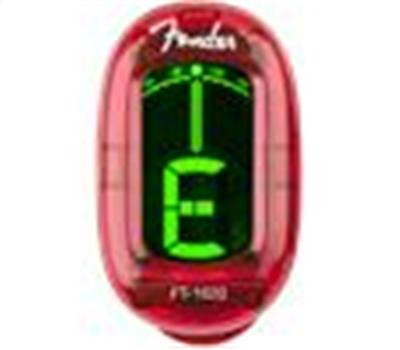 Fender FT-1620 California Series Tuner Red