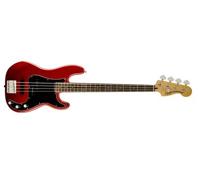 Squier Vintage Modified Precision Bass PJ RW Candy Apple Red1