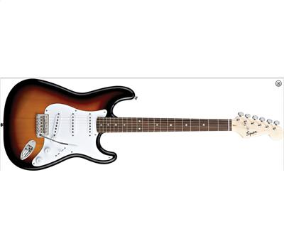 Squier Bullet Stratocaster with Tremolo RW Brown Sunburst