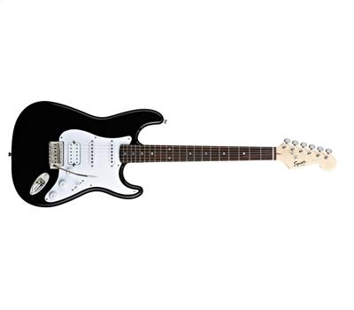 Squier Bullet Stratocaster with Tremolo HSS RW Black