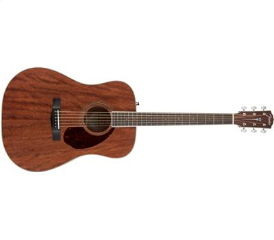 Fender Paramount PM-1 Standard Dreadnought All-Mahogany Natural1