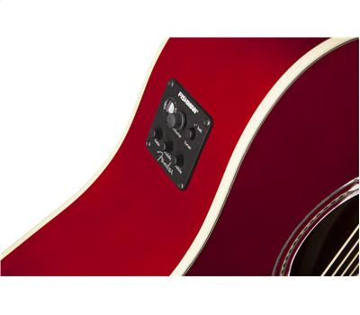 Fender Sonoran SCE Candy Apple Red with Matching Headstock3