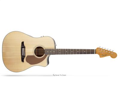 Fender Sonoran SCE Natural with Matching Headstock1