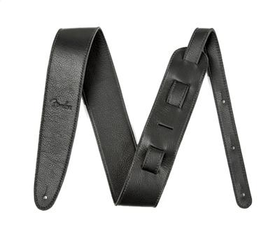 "Fender Artisan Crafted Leather Straps-2,5"" Black"