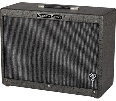 Fender GB George Benson Hot Rod Deluxe 112 Enclosure Gray / Black
