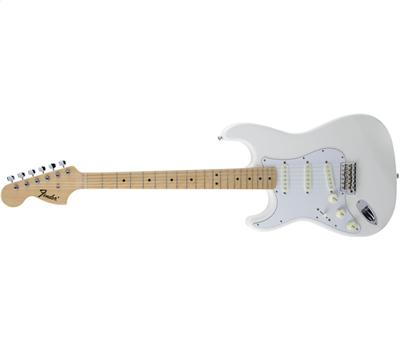 Fender Traditional 68 Stratocaster Lefthand MN Arctic White1