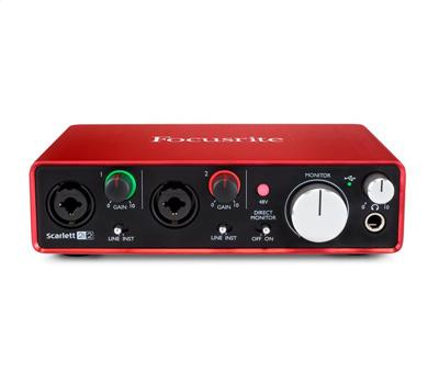 Focusrite Scarlett 2i2 2nd Generation1