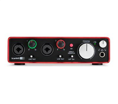 Focusrite Scarlett 2i2 2nd Generation2