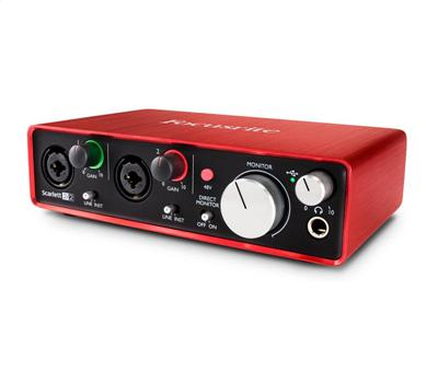 Focusrite Scarlett 2i2 2nd Generation5