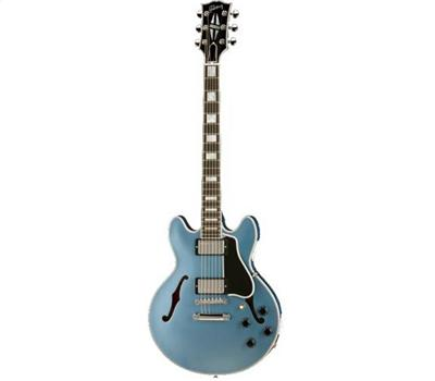 Gibson ES 359 Custom Shop Pelham Blue Chrome Hardware