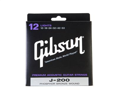 GibsonJ-200 Strings 12-53