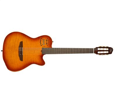 Godin Multiac ACS-SA Light Burst Flame Nylon HG