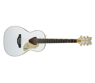 Gretsch G5021 WPE Rancher Penguin Parlor Acoustic White1
