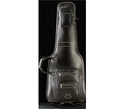 Harvest E-Guitar Bag Cow Antique Brown