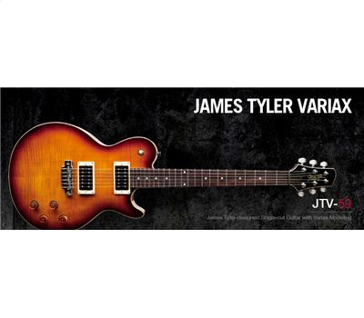 Line 6 JTV-59 Tobacco Sunburst James Taylor Variax1