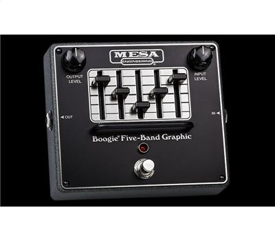 Mesa Boogie Five Band Graphic EQ FX-Pedal