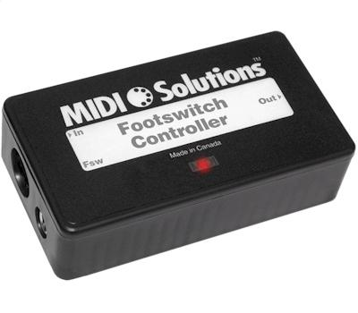 MIDI Solutions Footswitch Controller1