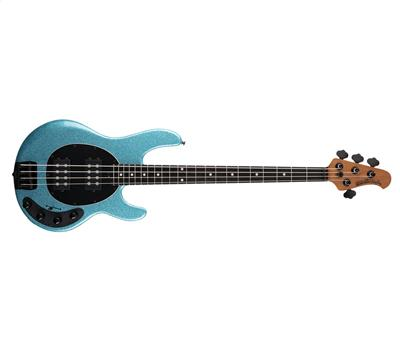 Music Man StingRay Special HH Aqua Sparkle Ebenholz