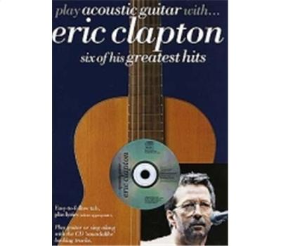 Clapton Play Acoustic Guitar with