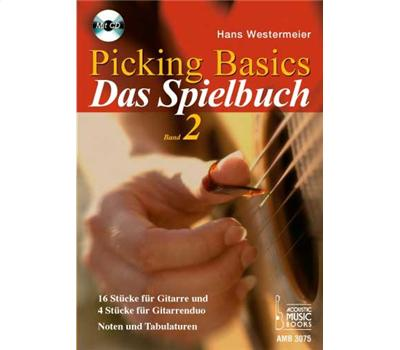 Westermeier Picking Basics Spielbuch Vol. 2